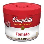 Campbells Tomato Soup - 15.4 oz. microwavable bowl, 8 per case