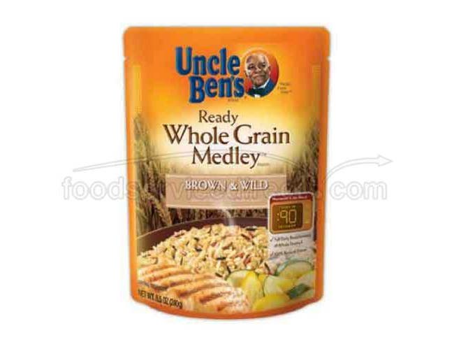 Uncle Bens Ready Whole Grain Medley Rice, 8.5 Ounce -- 12 per case.