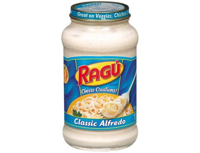 Ragu Cheese Creation Classic Alfredo Pasta Sauce, 16 Ounce -- 12 per case.