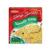 Lipton Savoury Soup Secrets Chicken Noodle Soup Mix - 4.5 oz. box, 24 per case