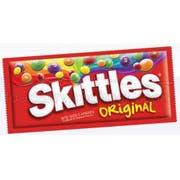 Skittles Bite Size Original Candy - 36 per pack -- 10 packs per case.