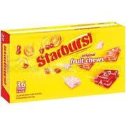 Starburst Original Fruit Chew Candy, 2.07 Ounce - 36 per pack -- 10 packs per case.