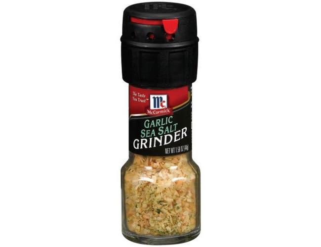 Mccormick Grinder Garlic Sea Salt Seasoning, 1.58 Ounce -- 36 per case.