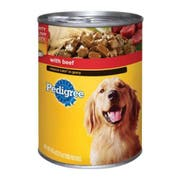 Pedigree Choice Cuts in Gravy Complete Nutrition with Beef for Dog, 22 Ounce Can -- 12 per case.
