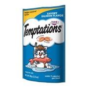 Whiskas Temptations Savory Salmon Flavor Treat for Cat, 3 Ounce Peg -- 12 per case.