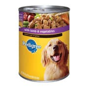 Pedigree Choice Cuts in Gravy Complete Nutrition with Lamb and Vegetables for Dog, 22 Ounce Can -- 12 per case.