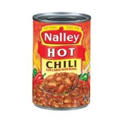 Nalley Chili Hot Con Carne with Beans, 15 Ounce -- 24 per case.