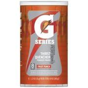 Gatorade G Series Perform Fruit Punch Sports Drink Powder, 9.8 Ounce -- 8 per case.