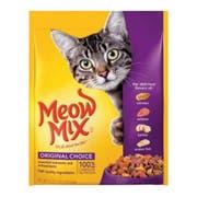 Meow Mix Original Choice Dry Cat Food, 18 Ounce Box -- 6 per case.