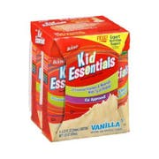 Boost Kid Essentials Vanilla Nutritionally Complete Drink, 8.25 Fluid Ounce - 4 per pack -- 4 packs per case.