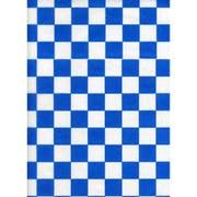Handy Wacks Blue Check Deli Paper, 1000 sheets per pack -- 6 per case.