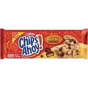 Nabisco Chips Ahoy Reeses Chewy Chocolate Chip Cookie, 9.5 Ounce -- 12 per case.
