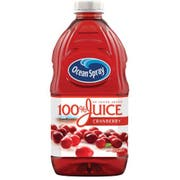 Ocean Spray 100 Percent Cranberry Juice, 60 Fluid Ounce -- 8 per case.