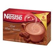 Nestle Rich Milk Chocolate Hot Cocoa Mix, 4.27 Ounce -- 12 per case.