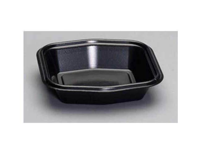Genpak Smart Set Laminated Foam Base Black Serving Tray -- 500 per case.