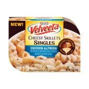 Velveeta Chicken Alfredo Cheesy Skillet Singles, 9 Ounce -- 6 per case.