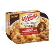 Velveeta Cheesy Skillets Ultimate Cheeseburger Dinner Kit,  9 Ounce -- 6 per case.