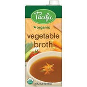 Pacific Foods Organic Vegetable Broth, 32 Fluid Ounce -- 12 per case.