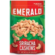 Emerald Sriracha Cashews, 5 Ounce -- 6 per case.