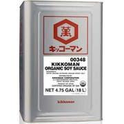 Kikkoman Organic Soy Sauce, 4.75 Gallon -- 1 each.