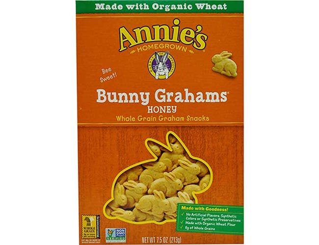 Annies Homegrown Organic Honey Flavored Bunny Graham, 7.5 Ounce -- 12 per case