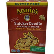 Annies Homegrown SnickerDoodle Bunny Cookie, 6.75 Ounce -- 12 per case