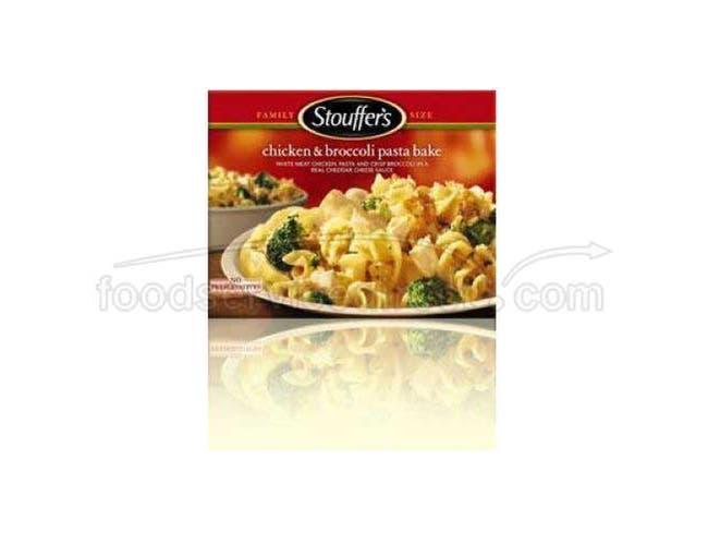 Nestle Stouffers Chicken and Broccoli Pasta Bake, 40 Ounce -- 6 per case.
