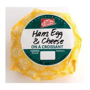 Deli Express Hot To Go Ham and Cheese Egg Croissant, 4.4 Ounce -- 10 per case.