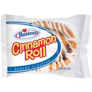 Hostess Single Serve Cinnamon Roll, 4 Ounce -- 36 per case.