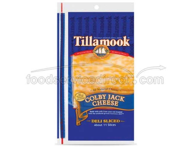 Tillamook Sliced Colby Jack Cheese, 12 Ounce -- 12 per case.