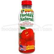 Floridas Natural Apple Juice, 14 Fluid Ounce -- 12 per case.