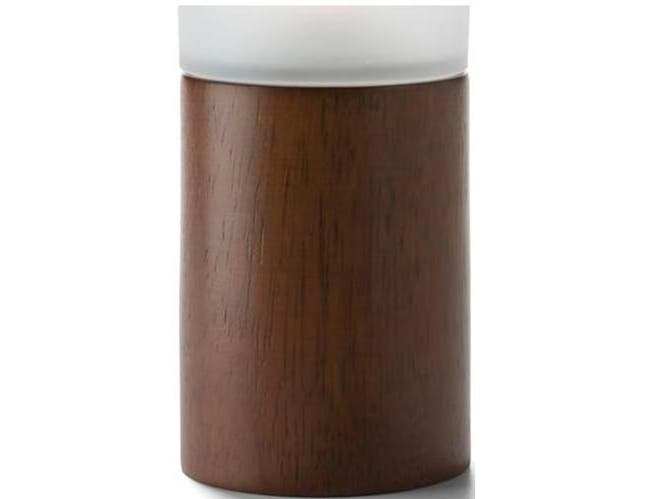 Hollowick Horizon Tall Wood Cylinder Base, 5 1/8 inch Height x 2 3/4 inch Dia -- 1 each.