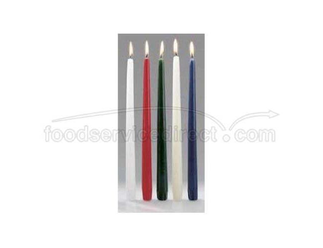 Hollowicks Select Wax Drip Less Taper Candle, 12 inch Height Taper -- 144 per case.