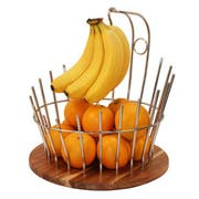 Smart Domino Fruit Basket with Banana Hook, 12 x 12 x 18.75 inch -- 1 each.