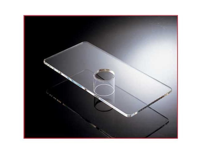 Smart Acrylic Rectangle Platform Only, 12.75 inch -- 1 each.