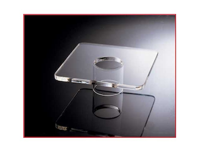 Smart Acrylic Square Platform Only, 8 inch -- 1 each.