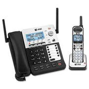 AT and T SB67138 DECT6 Phone/Ans System, 4 Line, 1 Corded/1 Cordless Handset