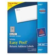 Avery Easy Peel Inkjet Address Labels, 1/2 x 1 3/4, White, 2000/Pack