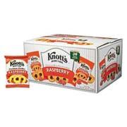 Knotts Berry Farm Premium Berry Jam Shortbread Cookies, 2 oz Pack, 36/Carton