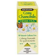 Bigelow Single Flavor Tea, Cozy Chamomile, 28 Bags/Box