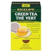 Bigelow Green Tea Pods, 1.90 oz, 18/Box