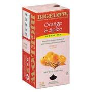 Bigelow Orange and Spice Herbal Tea, 28/Box