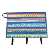 Carson-Dellosa Publishing Border Storage Pocket Chart, Blue/Clear, 41 inch x 24 1/2 inch