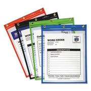 C-Line Heavy-Duty Super Heavyweight Plus Shop Ticket Holders, Assorted, 9 x 12, 20/BX