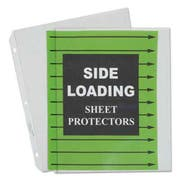 C-Line Side Loading Polypropylene Sheet Protector, Clear, 2 inch, 11 x 8 1/2, 50/BX
