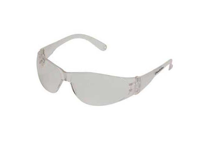 Crews Checklite Scratch-Resistant Safety Glasses, Clear Lens