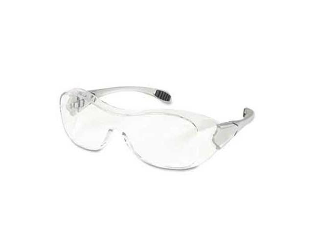 Crews Law Over the Glasses Safety Glasses, Clear Anti-Fog Lens