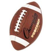 Champion Sports Pro Composite Football, Junior Size, 20.75 inch, Brown