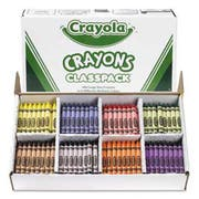 Crayola Classpack Large Size Crayons, 50 Each of 8 Colors, 400/Box