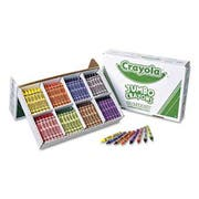 Crayola Jumbo Classpack Crayons, 25 Each of 8 Colors, 200/Set
